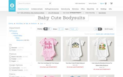 Baby Cute Onesies & Bodysuits | Zazzle