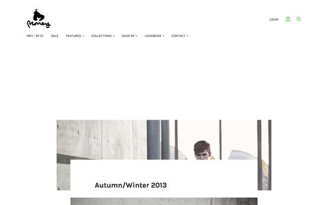 Autumn/Winter 2013 — MONEY