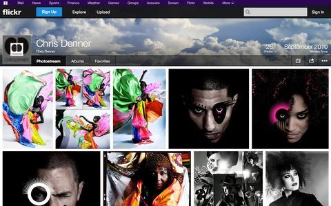 Screenshot of Flickr Page flickr.com - Flickr: Chris Denner's Photostream - captured Oct. 22, 2014