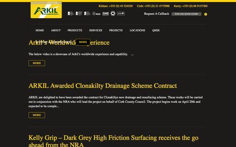 Screenshot of Blog Press Page arkil.ie - Blog | - captured Feb. 6, 2016