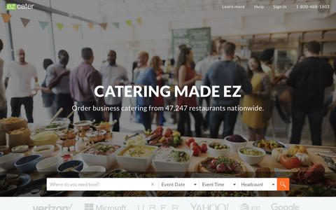 Catering Services | Caterer Reviews | ezCater