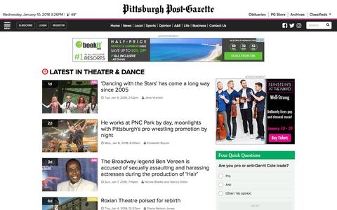 Theater & Dance | News from the Pittsburgh Post-Gazette