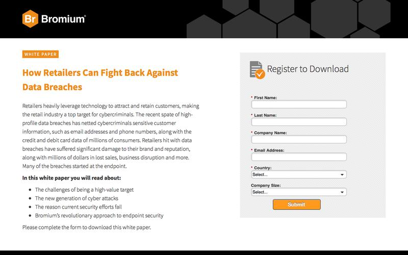 Bromium: White Paper - How Retailers Can Fight Back Against Data Breaches