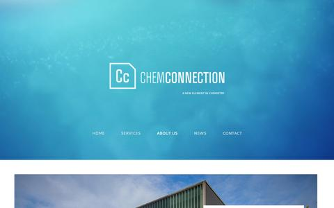Screenshot of About Page Contact Page chemconnection.eu - About us | ChemConnection - captured Oct. 2, 2014