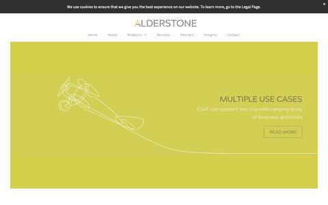 Screenshot of Products Page alderstone.com - ALDERSTONE - IT SERVICE MANAGEMENT PRODUCTS - captured Nov. 12, 2018