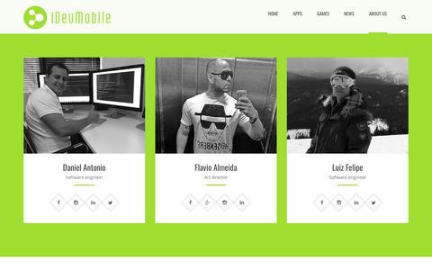 Screenshot of About Page Team Page idevmobile.com - Team | iDevMobile Tec. - captured Sept. 25, 2018