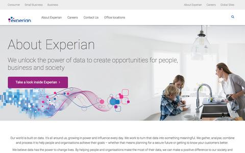 About Experian | Experian UK and Ireland