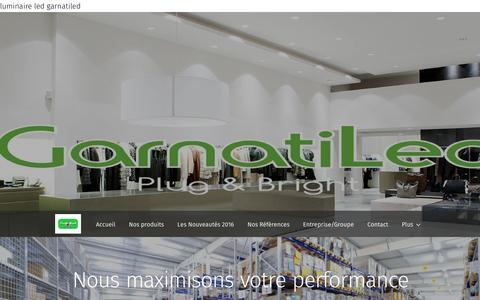 Screenshot of Home Page garnatiled.com - garnatiled.com - captured July 9, 2016