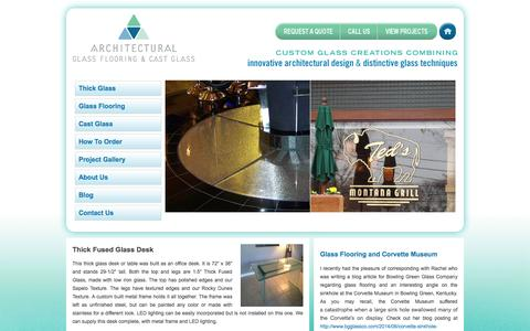 Architectural Glass Flooring & Cast Glass - Home