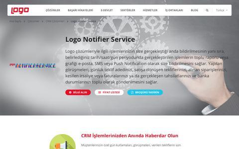 Logo Notifier Service | Entegrasyon Çözümleri | Logo Yazılım