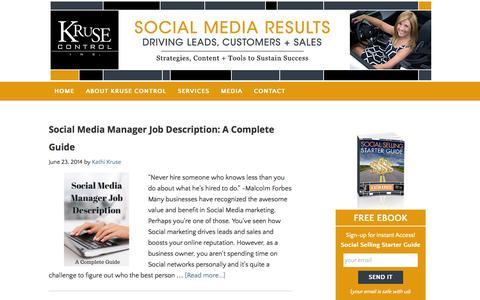 Screenshot of Team Page krusecontrolinc.com - management Archives - Kruse Control Inc - captured Sept. 25, 2014