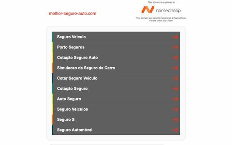 Screenshot of Home Page melhor-seguro-auto.com - melhor-seguro-auto.com - captured Sept. 28, 2018