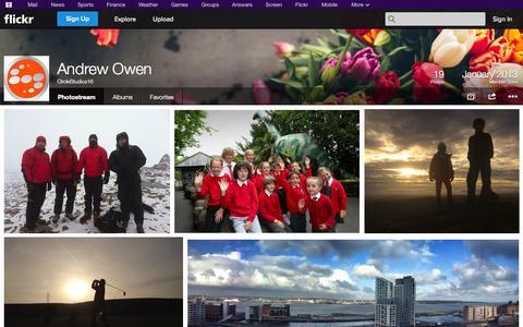 Screenshot of Flickr Page flickr.com - Flickr: CircleStudios16's Photostream - captured Oct. 23, 2014