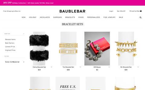 Bracelet Sets | BaubleBar