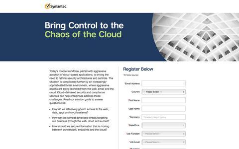 Screenshot of Landing Page symantec.com - Web Security Service Solution Guide | Symantec - captured Sept. 21, 2018