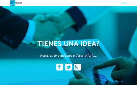 Screenshot of Home Page ozelot.mx - CONTACTO - OZELOT Marketing & Digital Agency - captured Oct. 22, 2017