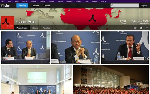 Screenshot of Flickr Page flickr.com - Flickr: Casa Asia's Photostream - captured Oct. 22, 2014