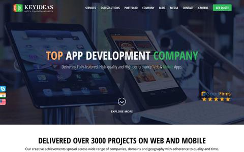 Top App Development Company USA & India | Web and Mobile