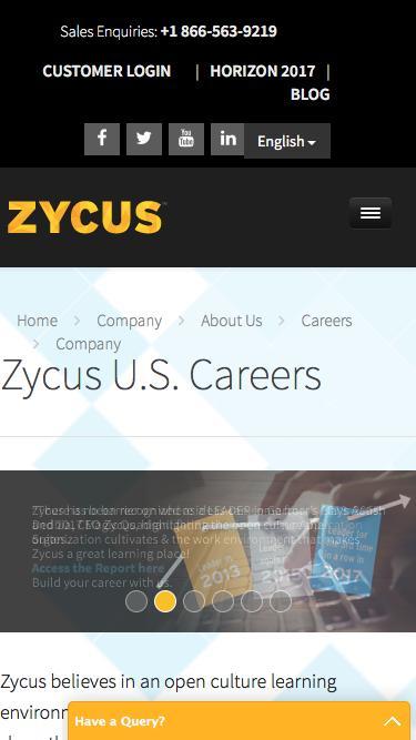 Zycus U.S. Careers