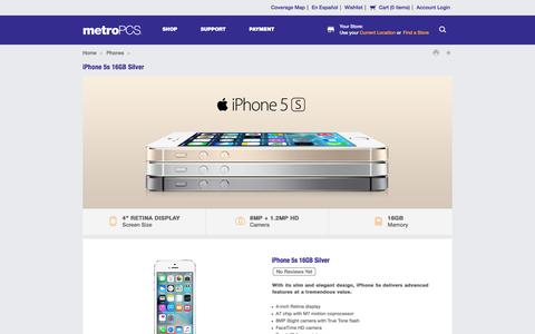 Learn More About the Apple iPhone 5s    No Contracts Necessary at MetroPCS