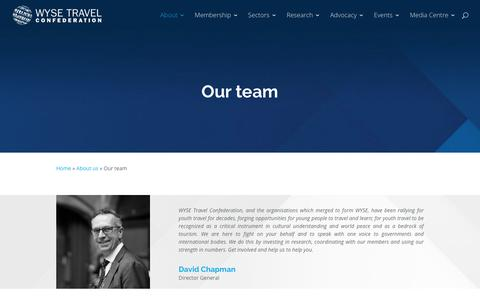 Screenshot of Team Page wysetc.org - Our team - WYSE Travel Confederation - captured Sept. 22, 2018