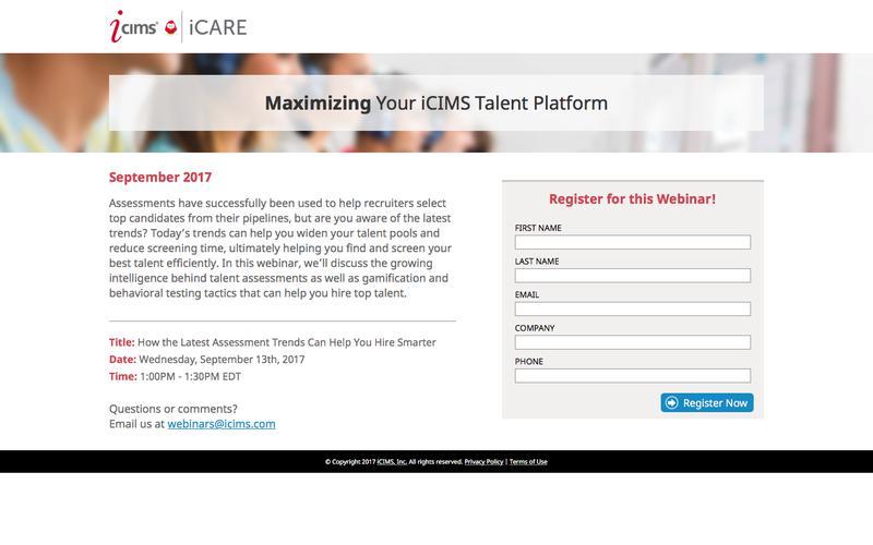 Maximizing Your iCIMS Talent Platform