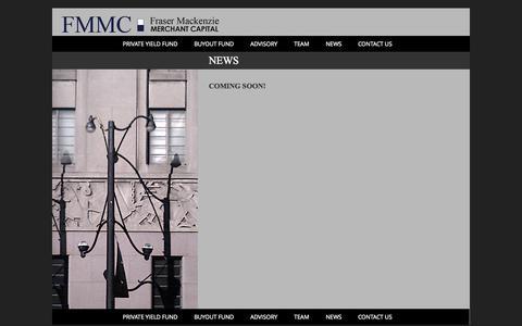 Screenshot of Press Page fmmc.ca - News - captured Oct. 6, 2014