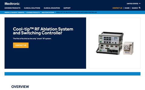 Cool-tip™ RF Ablation System and Switching Controller   Medtronic