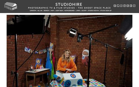 Screenshot of studiohire.com - STUDIOHIRE - Studioview - captured July 9, 2018