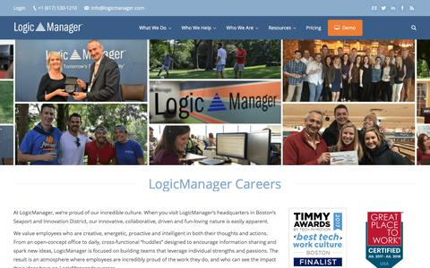 Careers at LogicManager