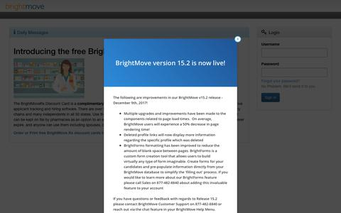 BrightMove ATS (Secure) - Enterprise Recruiting and HR Management