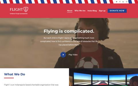 Screenshot of About Page flight1.org - About Flight1 – Flight1 - captured Aug. 16, 2018