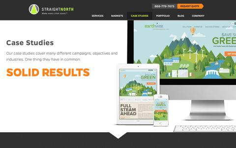 Straight North Case Studies - PPC, SEO, Display, and Email