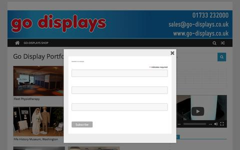 Screenshot of Testimonials Page go-displays.co.uk - Go Displays l Exhibition Stands l Display Stands | Go Displays Blog | Specialists in Portable Displays - captured July 20, 2018