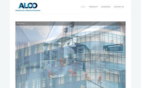 Screenshot of Home Page alco-chem.com - Alco-Chem, Inc. - Alco-Chem, Inc. - captured Nov. 20, 2016