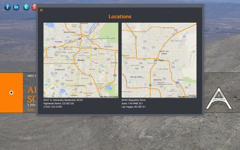 Screenshot of Locations Page ab-cs.com - Locations - captured Oct. 4, 2014