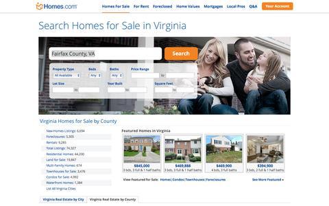Virginia Homes for Sale | Homes.com