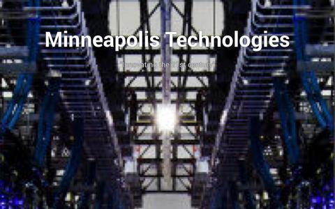 Screenshot of Blog minneapolistechnologies.com - Russian Television Installation | Minneapolis Technologies - captured Oct. 26, 2014