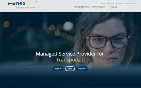 Cloud Based Managed Service Provider  | nexogy