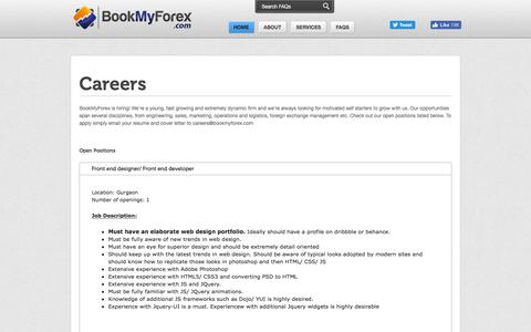 BookMyForex - Careers