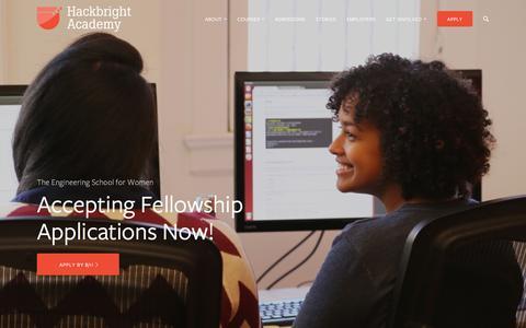 Homepage | Hackbright Academy