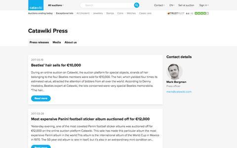 Catawiki Press - Catawiki