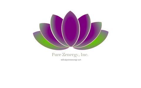 Screenshot of Home Page purezenergy.net - Pure Zenergy Inc. - A Bryan Brandenburg Company - captured Oct. 3, 2014