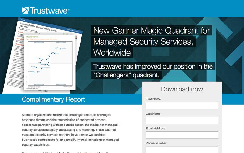 Gartner Magic Quadrant for Managed Security Services