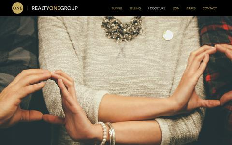 Screenshot of Team Page realtyonegroup.com - Our Culture | Realty ONE Group - captured Feb. 4, 2016