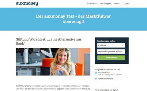 auxmoney im Test | AUXMONEY.com