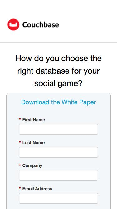 How do you choose the right database for your social game?