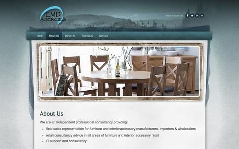 Screenshot of About Page emdagencies.co.uk - About Us - EMD Agencies - captured Sept. 26, 2014