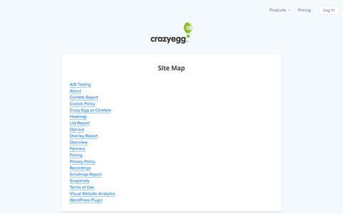 A/B Testing & Heatmaps - Crazy Egg Website Optimization Software