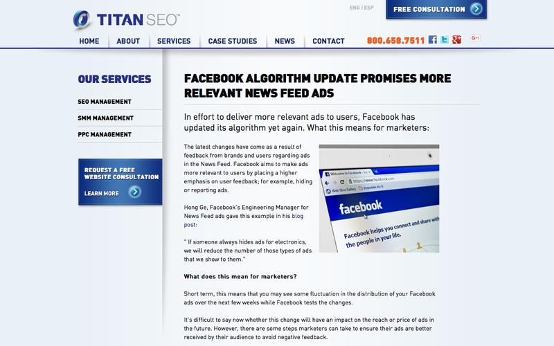 Facebook Updates News Feed Algorithm in Order to Deliver More Relevant Ads